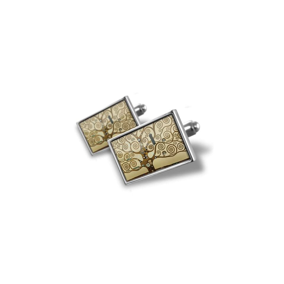 Neonblond Cufflinks Tree of Life Art   cuff links for man