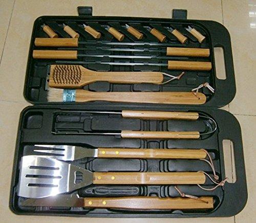 Landmann Bambus-Werkzeug-Set In der Rechtssache 18 Stück online kaufen