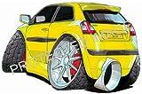Koolart Car Tax Disc Holder 1484 Fiat Stilo