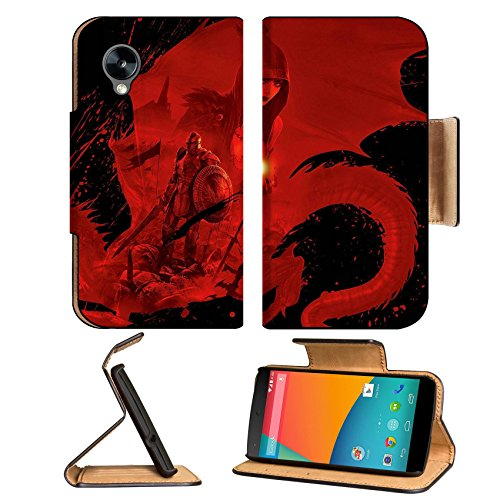Dragon Age Origins Artwork Worriers Google Nexus 5 Hammerhead Lg Flip Case Stand Magnetic Cover Open Ports Customized Made To Order Support Ready Premium Deluxe Pu Leather 5 11/16 Inch (145Mm) X 2 15/16 Inch (75Mm) X 9/16 Inch (14Mm) Luxlady Nexus Cover P front-577735