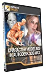 Infinite Skills Character Modeling in 3DS Max Tutorial DVD - Video Training (PC/Mac)