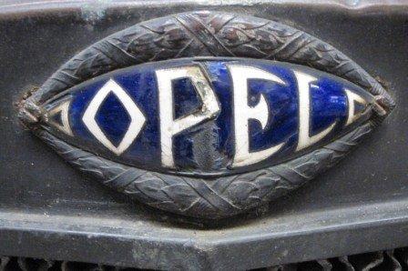 Opel - Emblem - 20er Jahre - Motor-Art-Poster - 20 x 30 cm
