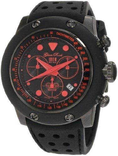 Glam Rock GR90110 - Reloj de pulsera hombre, color negro