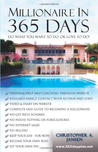 Millionaire in 365 Days: The Daily Plan to Get There