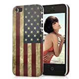 Vintage Retro United States American Flag Hard Case for the NEW Apple iPhone 5 (AT&T, Verizon, Sprint)