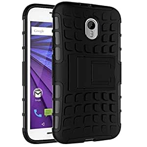 ZEDAK BACK COVER FOR MOTOROLA MOTO E (3RD GEN) BLACK