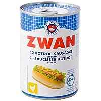 Zwan Chicken 10 Hotdog Sausages Poulet, 400g