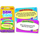 Trend Enterprises Bible Trivia Flash Cards