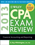 img - for Wiley CPA Exam Review 2013, Financial Accounting and Reporting [Paperback] [2012] (Author) O. Ray Whittington book / textbook / text book