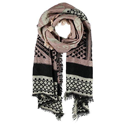 Geometric Triangles Sciarpa Passigatti sciarpa da donna foulard da donna Taglia unica - rosa