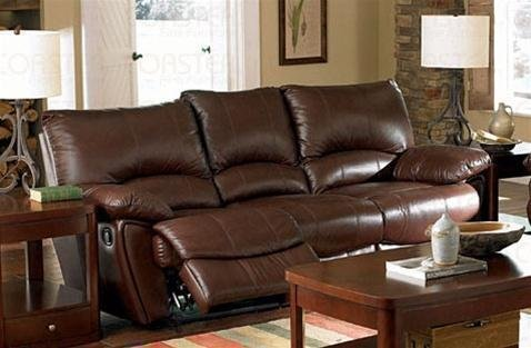Recliner Sofa Couch in Brown Leather Match P.Number: 600281