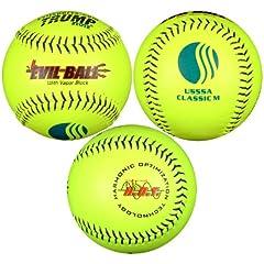 Buy 1 Dozen Evil Ball USSSA 12 Softballs - 40cor .325 Compression (MP-EVIL-CLAS-Y-2)... by Trump/Evil Sports