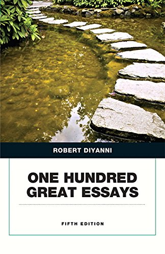 fifty great essays 5th edition ebook Find 9780321872630 one hundred great essays 5th edition by diyanni at over 30 bookstores buy, rent or sell.