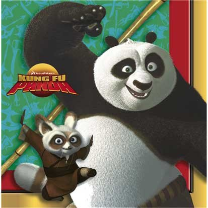 Kung Fu Panda Lunch Napkins 16ct - 1