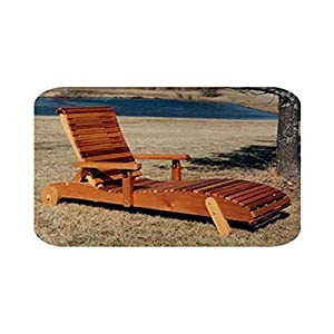 Woodworking project paper plan to build chaise lounge for Adirondack chaise lounge plans