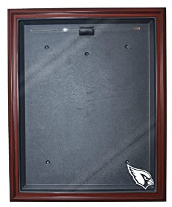 NFL Arizona Cardinals Removable Face Full Size Football Jersey Display - Mahogany by Caseworks