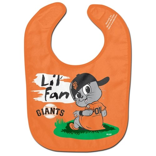San Francisco Giants Official Mlb Baby Bib All Pro Style By Mcarthur front-553906