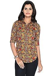 LIBA Women's Shirt (LE-C-01 _Multi_Medium)