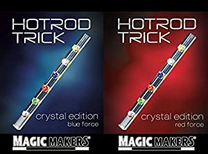 HotRod Trick - Crystal Edition - Magic Trick Red and Blue