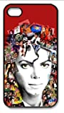 The World's Most Influential Male Singers Mj Michael Jackson Iphone 4 4s Case (Black & White) Amazon.com
