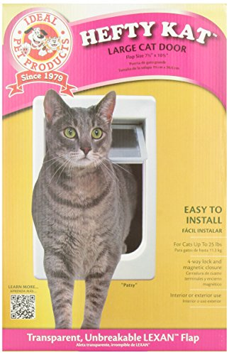 Ideal Pet Products 7.5-by-10.5-Inch Cat Door with Telescoping Frame image