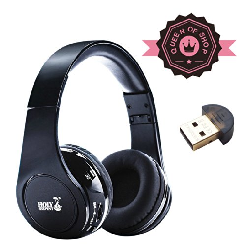 Hd830 Black Bluetooth Stereo Headphone - Supports Wireless Music Streaming And Hands-Free Calling