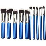 KOLIGHT® Set Of 10pcs Fashion Portable Premium Makeup Brush Set Cosmetics Foundation Blending Blush Eyeliner...
