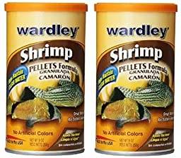 Wardley Shrimp Pellets (2 Pack of 9-Ounce)