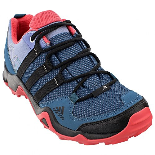 adidas Outdoor AX2 Hiking Shoe - Women's Prism Blue/Black/Super Blush 7.5