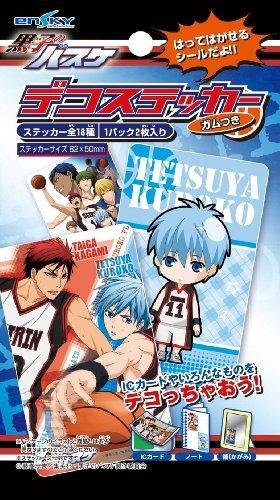 Kuroko's Basketball – Deco Sticker with Gum (20pcs) (Shokugan) by ensky jetzt kaufen