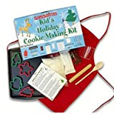 Sassafras Deluxe Holiday Cookie Making Kit, 61.28-Ounce