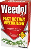 Weedol 2 12 Sachets Granular Concentrate Weedkiller