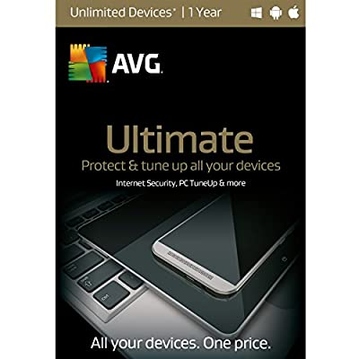 AVG Ultimate | Unlimited Devices | 1 Year Twister Parent