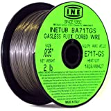 INETUB BA71TGS .035-Inch on 2-Pound Spool Carbon Steel Gasless Flux Cored Welding Wire