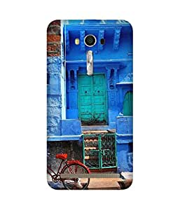 Shades Of Blue Back Cover Case for Asus Zenfone 2