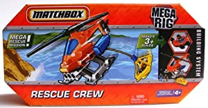 Matchbox Mega Rig Rescue Crew Building System Toy