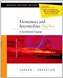 Elementary Algebra Media Enhanced Ed (0618753966) by Roland E. Larson