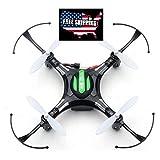 Eachine H8 Mini Quadcopter Drone Headless Mode Remote Control Nano Quadcopter RTF Mode 2 (Black) (Color: Black)