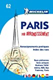 Michelin Map Paris by Arrondissements (saddle-stitched) No. 62 (Maps/City (Michelin))