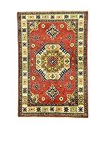 Eden Carpets Alfombra Uzebekistan Rojo/Multicolor 150 x 101 cm