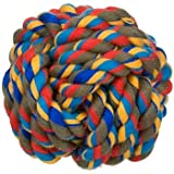 PETCO Small Rope Knotty Ball Dog Toy, Color:Assorted