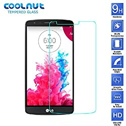 COOLNUT® Tempered Glass Screen Protector for LG G3