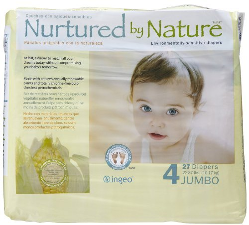 Nurtured by Nature Diapers Size4 27ct - 1