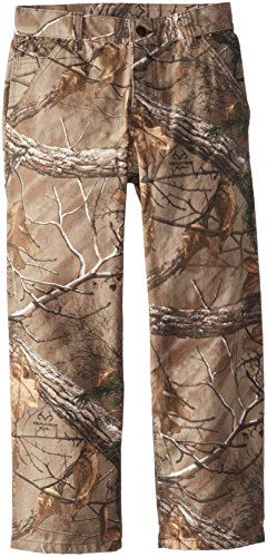 Carhartt Little Boys' Washed Camo Dunagree, Realtree Xtra, 4 (Boys Camo Pants compare prices)
