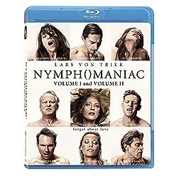 Nymphomanic Vol 1 & Vol 2 [Blu-ray]