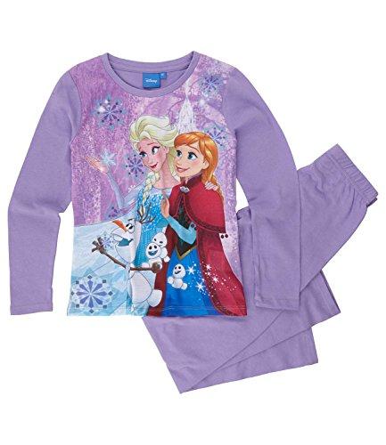Disney Frozen - Il regno di ghiaccio Ragazze Pigiama - viola - 140