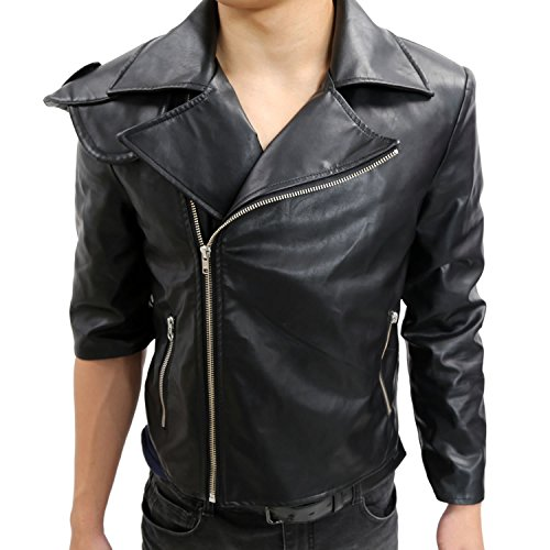 Halloween Men's Mad Max Leather Jacket