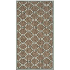 Amazon Safavieh Courtyard Collection CY6009 337 Brown