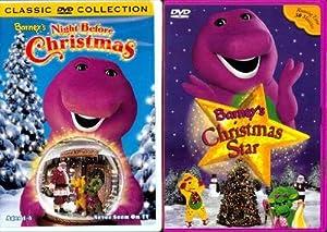 Barney-Christmas Star/Barneys Holiday 2pk