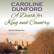 A Death for King and Country Audiobook by Caroline Dunford Narrated by Karen Cass